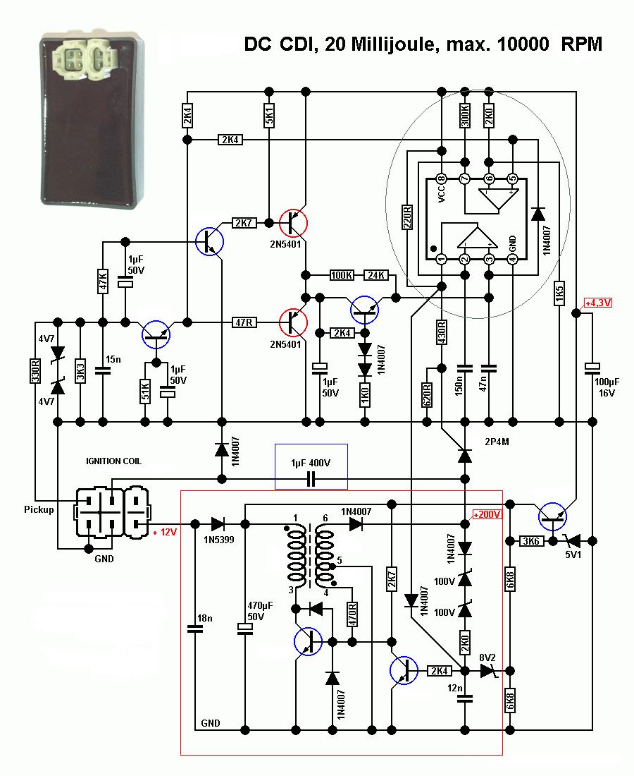 Honda Gy6 Motor Wiring Diagram