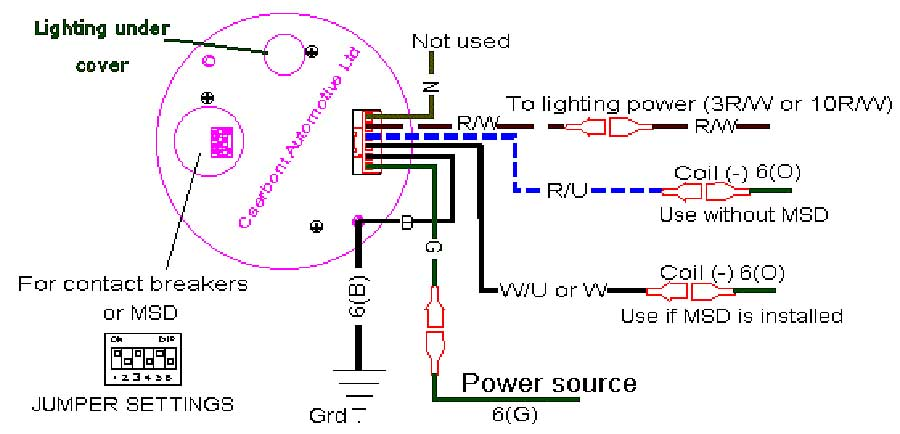 Astounding How To Wire A Tachometer Diagrams Basic Electronics Wiring Diagram Wiring Cloud Filiciilluminateatxorg
