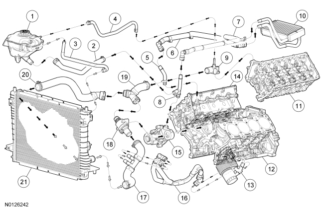 coyote engine diagram xf 6306  ford mustang cooling system diagrams on engine coolant  ford mustang cooling system diagrams on
