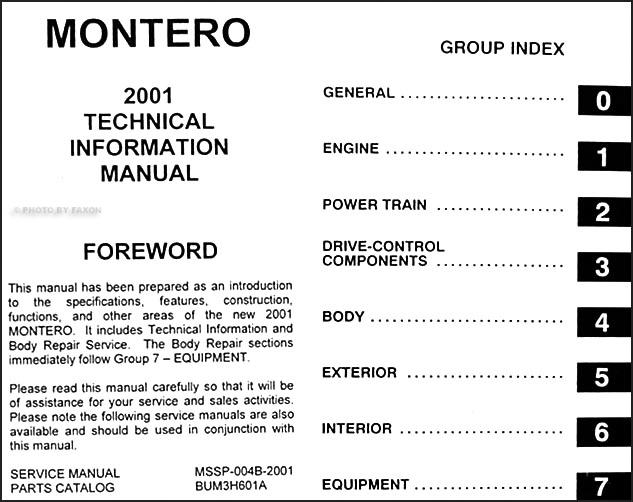 Mitsubishi Montero Sport Wiring Diagram