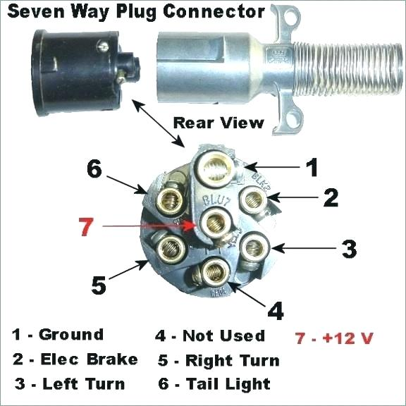 Wiring Diagram For Tractor Trailer Plug