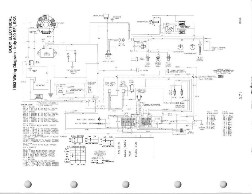 Polaris Outlaw 500 Wiring Diagram