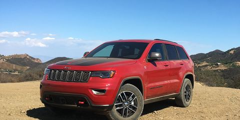 Astounding 2017 Jeep Grand Cherokee Trailhawk V 6 Test 8211 Review 8211 Wiring Cloud Gufailluminateatxorg