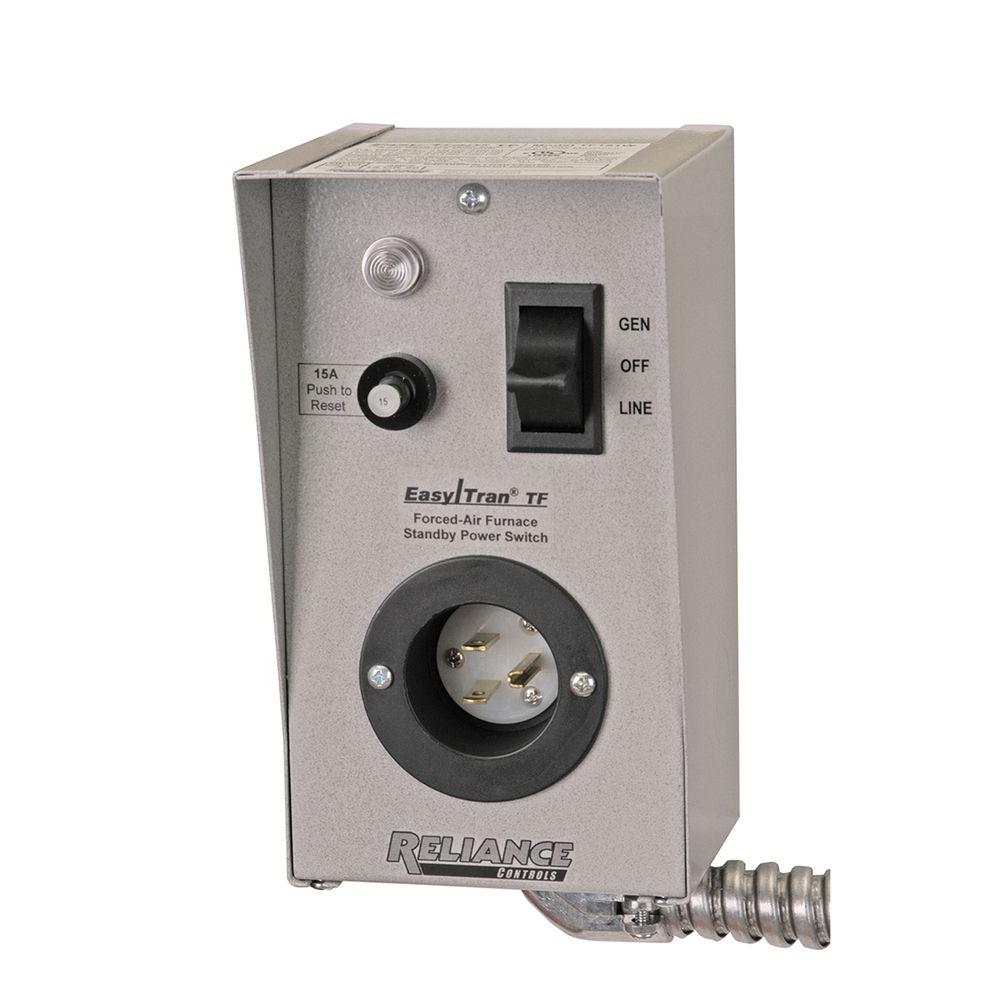 Swell Reliance Controls Furnace Transfer Switch Tf151 The Home Depot Wiring Cloud Uslyletkolfr09Org