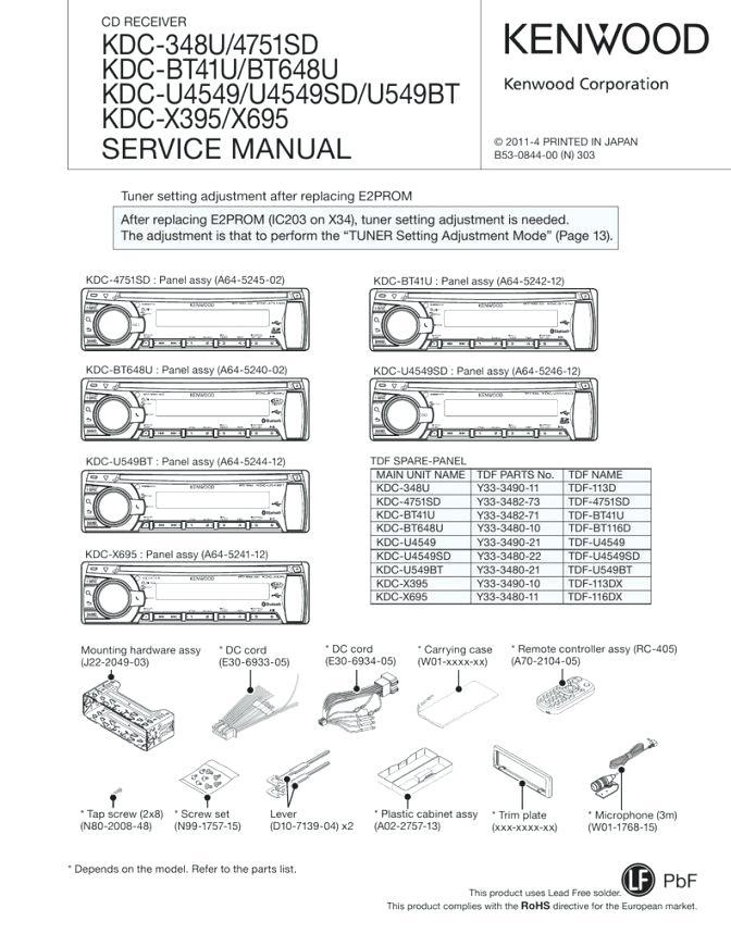 [ZTBE_9966]  CA_1475] Kdc Wiring Also Kenwood Wiring Harness Diagram Moreover Kenwood 16  Pin | Kenwood Kdc X395 Wiring Diagram |  | Jidig Kapemie Mohammedshrine Librar Wiring 101