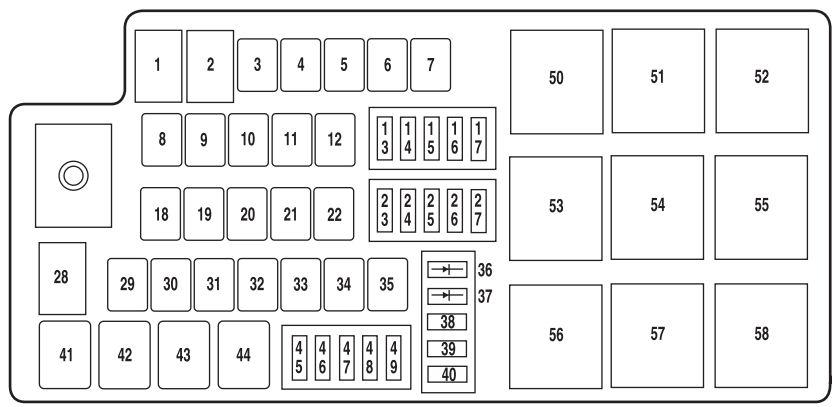 Awe Inspiring 2012 Mustang Fuse Box Diagram Wiring Diagram Library Wiring Cloud Biosomenaidewilluminateatxorg