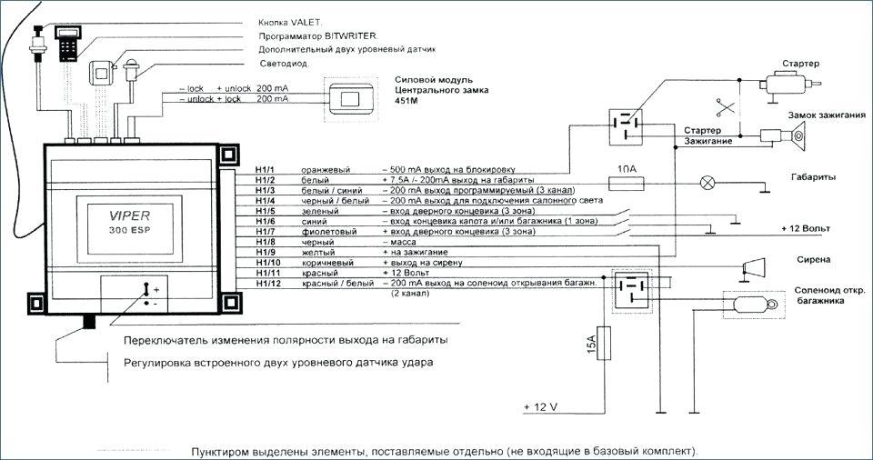 Viper 500 Esp Wiring Diagram