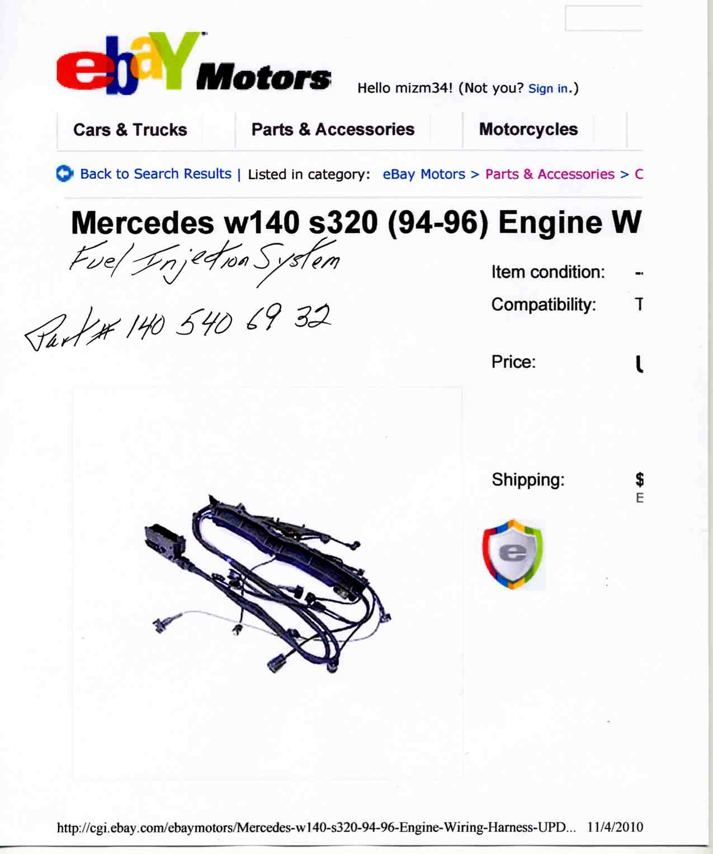 Yt 0905 Mercedes E320 Engine Diagram Wiring Diagram