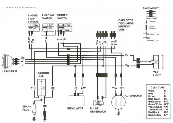 Pleasant Yamaha Banshee Wiring Schematic Wiring Cloud Intelaidewilluminateatxorg