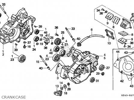 CL_2696] Honda Cr125R 1995 Usa Crankcase Schematic Partsfiche Wiring Diagramnorab.rect.aidew.illuminateatx.org
