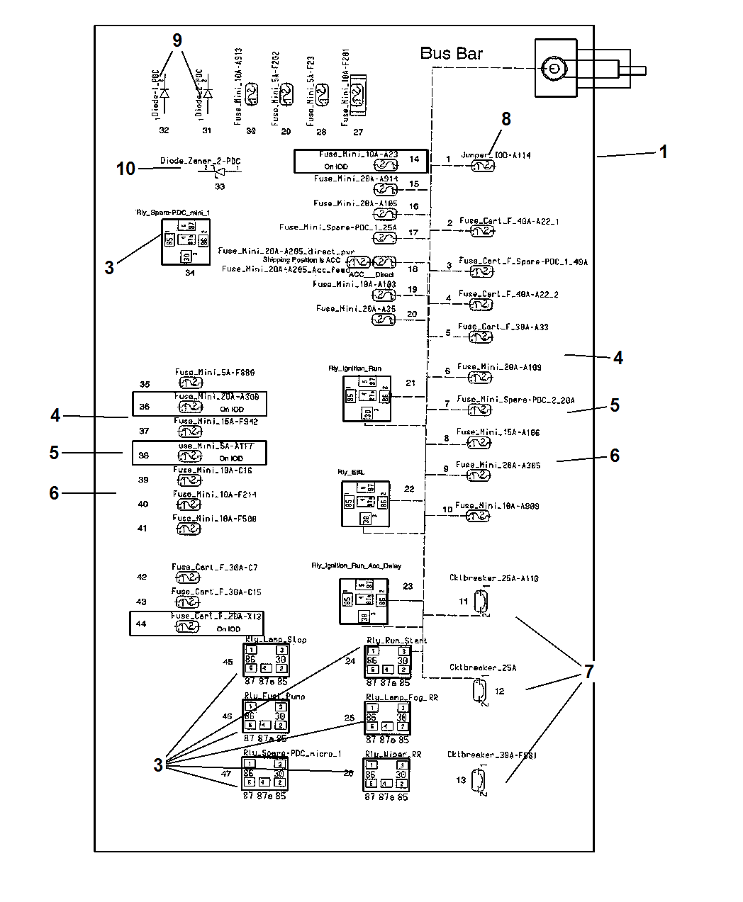 AM_7385] 2006 Dodge Magnum Power Distribution Fuse Box DiagramXolia Gram Stre Hyedi Mohammedshrine Librar Wiring 101