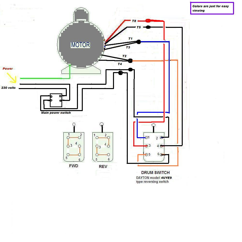Incredible Wiring Diagram For Reversing Switch Basic Electronics Wiring Diagram Wiring Cloud Waroletkolfr09Org