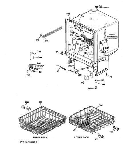 Ge Potscrubber 1200 Dishwasher Not Draining