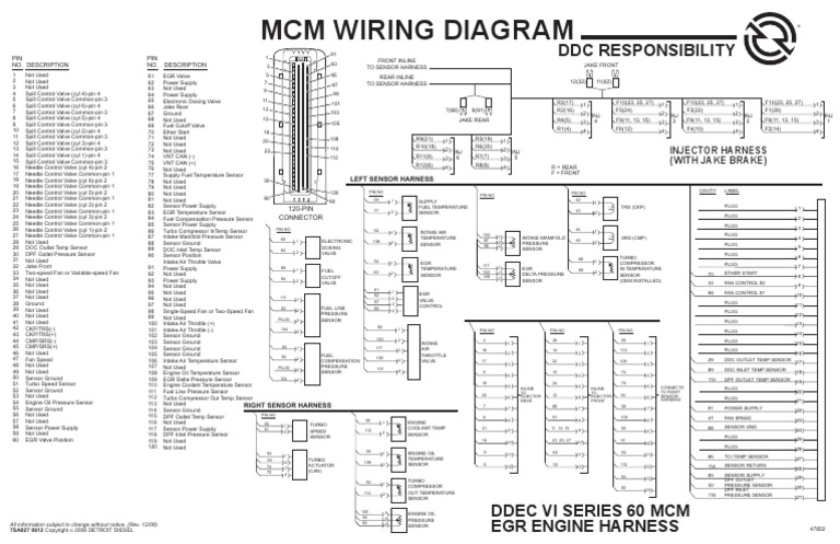 ddec ii wiring diagram be 7156  ddec 6 wiring diagram free diagram  be 7156  ddec 6 wiring diagram free diagram