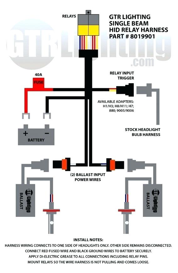 dc1212 hid wire harness free diagram