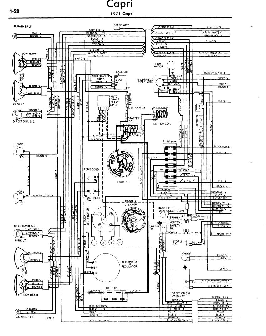 1991 mercury capri wiring diagram - wiring diagram schematics 51 mercury wiring diagram  wiring diagram schematics