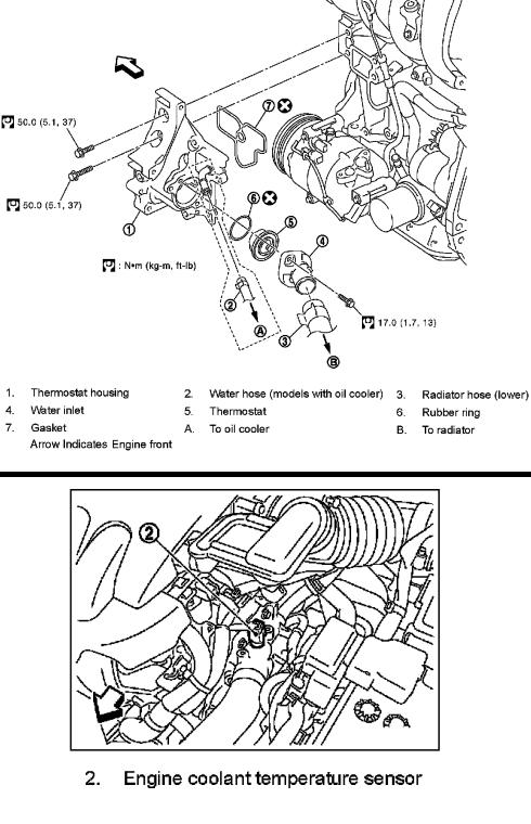 Groovy P0125 2008 Nissan Versa Engine Coolant Temperature Sensor Wiring Cloud Overrenstrafr09Org