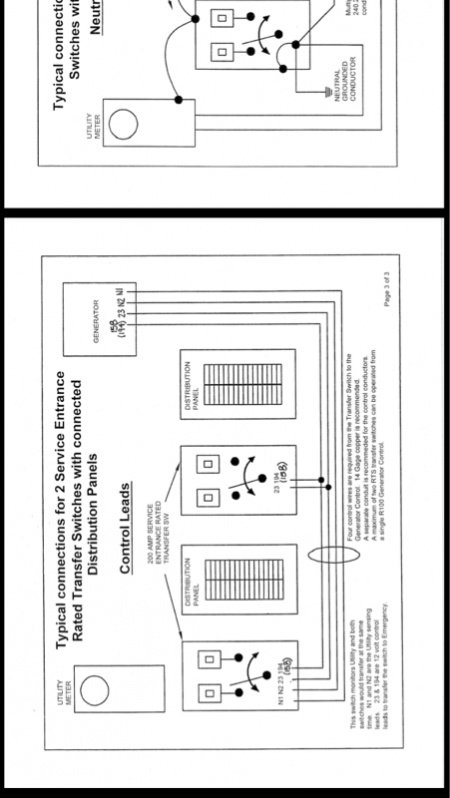 Ky 1340 200 Amp Automatic Transfer Switch 20000 Watt Wiring Diagram Schematic Wiring