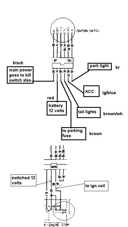 1985 Honda Gl1200 Wiring Diagram 240