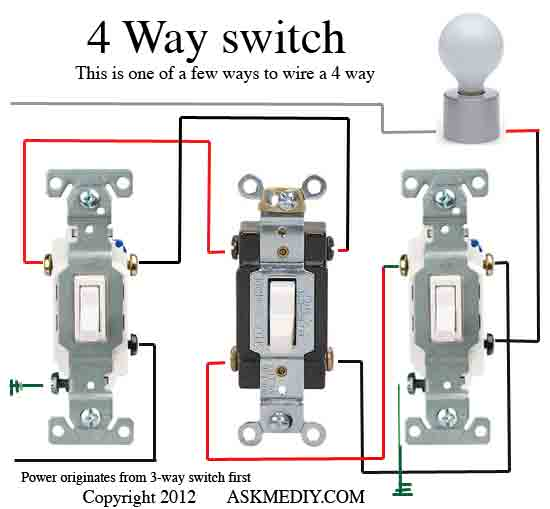 Pleasing How To Install A 4 Way Switch Askmediy Wiring Cloud Licukosporaidewilluminateatxorg