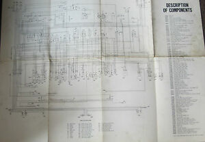 Pleasant Fiat 128 Sedan 1975 Fiat Factory Wiring Diagram 29 By 23 Inches Ebay Wiring Cloud Filiciilluminateatxorg