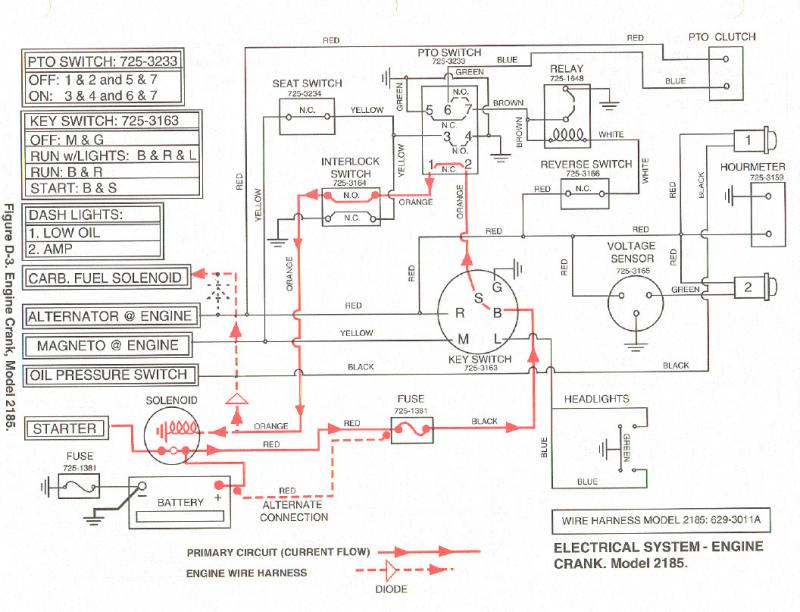 wiring diagram for cub cadet sltx 1054 dimmable lights