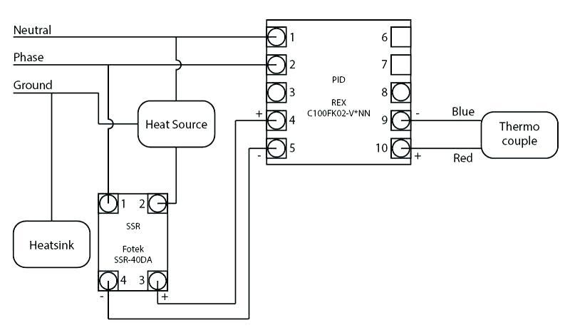 Oa 8451  Pid Wiring Diagram With Heat Sink Wiring Diagram