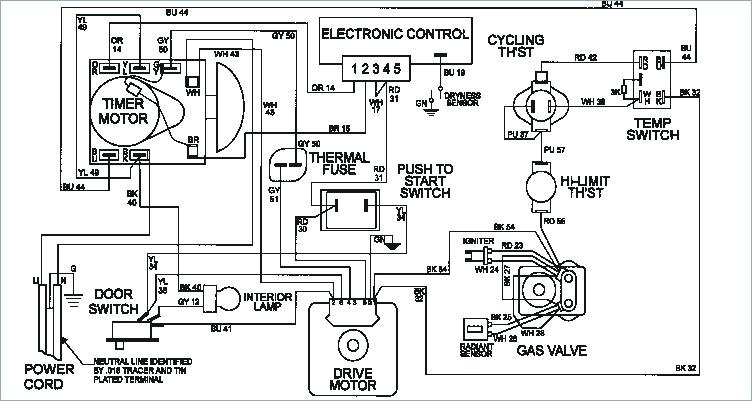 Maytag Neptune Dryer Electrical Schematic