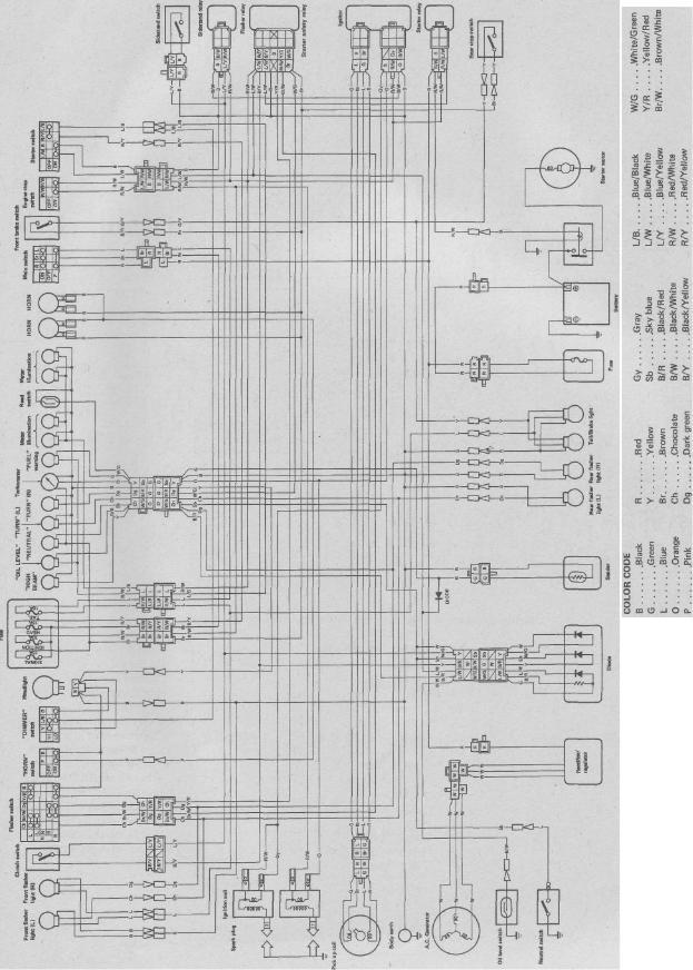 Th 9104 1994 Yamaha 750 Virago Wiring Diagram Download Diagram