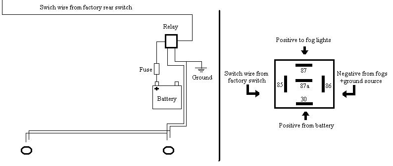 5 wire relay schematic nt 4421  relay diagram  nt 4421  relay diagram