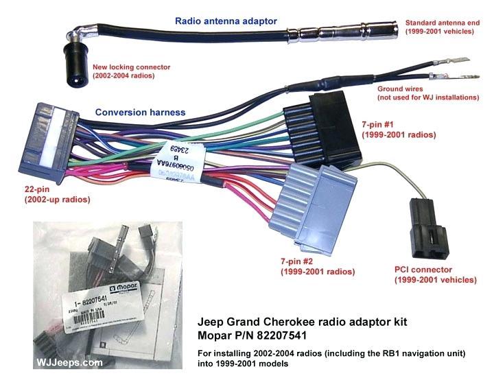 ew6983 2001 jeep grand cherokee infinity stereo wiring