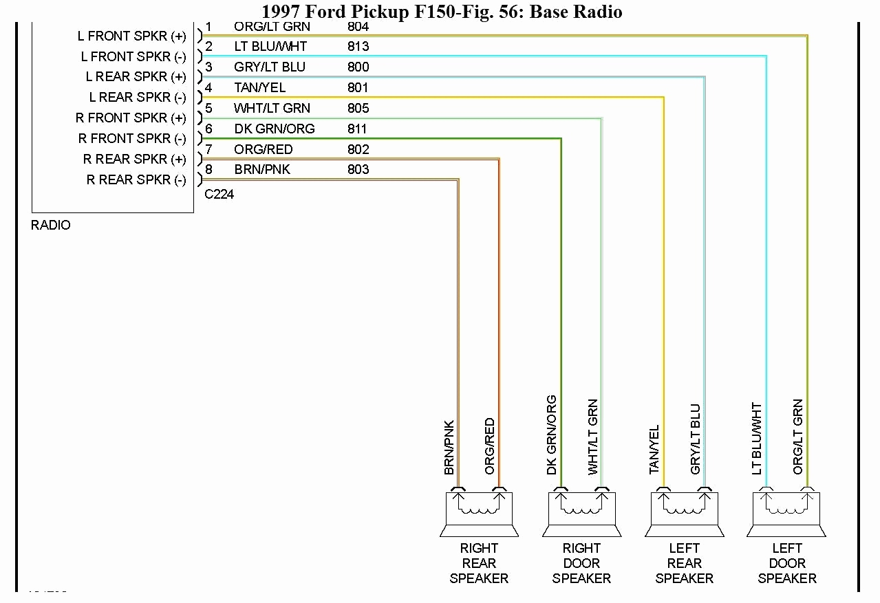 99 Ford F 150 Radio Wiring Diagram