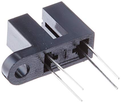 """10 x Aleph 1//8/"""" Slot Photo Interrupter with Leads Optical Switch Opto Sensor IR"""