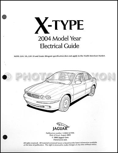 Surprising 2002 Jaguar X Type Electrical Guide Wiring Diagram Wiring Cloud Ostrrenstrafr09Org