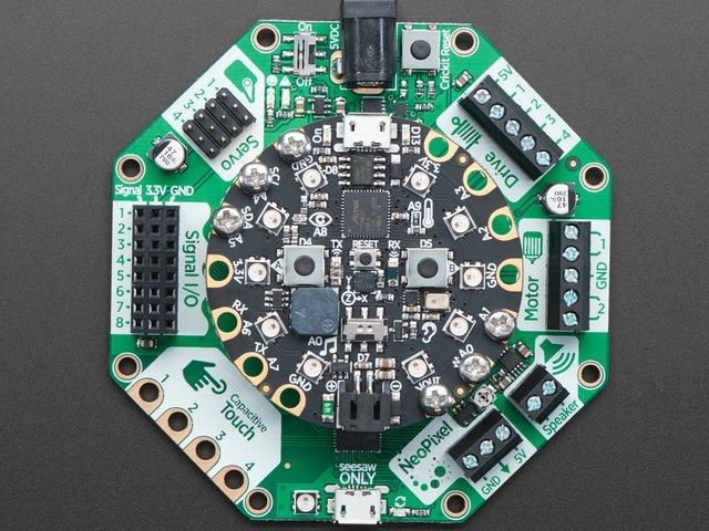 Miraculous Overview Introducing Adafruit Crickit Makerobotfriend Adafruit Wiring Cloud Vieworaidewilluminateatxorg