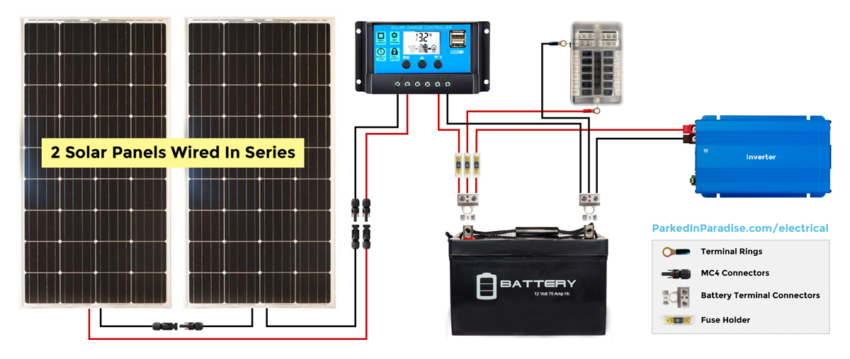 Awe Inspiring Solar Generator Wiring Schematic Basic Electronics Wiring Diagram Wiring Cloud Ostrrenstrafr09Org