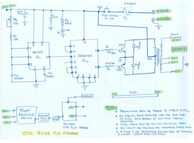 Wondrous Lcd Inverter Wiring Diagram Basic Electronics Wiring Diagram Wiring Cloud Uslyletkolfr09Org