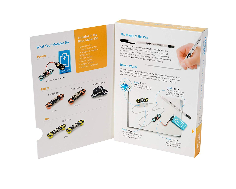Phenomenal Amazon Com Circuit Scribe Basic Kit Plus Draw Circuits Instantly Wiring Cloud Loplapiotaidewilluminateatxorg