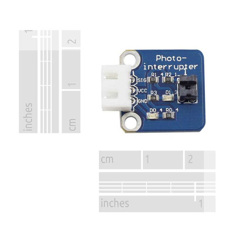 10Pcs Photo Interrupter Module Sensor DIY Board for Arduino UNO R3
