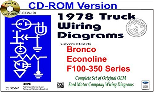 Swell 1978 Ford Truck Wiring Diagrams Bronco Econoline F100 350 Series Wiring Cloud Timewinrebemohammedshrineorg