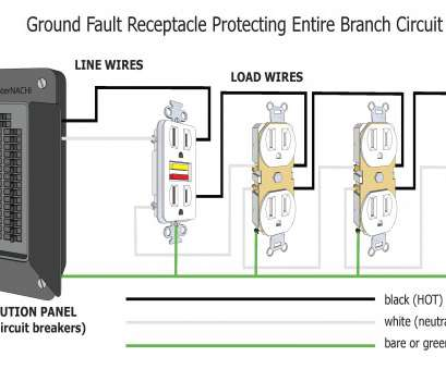 My 1140 Gfci Outlet Wiring Diagram Together With Multiple Outlet Wiring Free Diagram