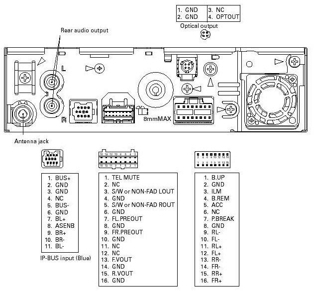 pioneer dxt x4869bt wiring diagram  1973 ford f 250