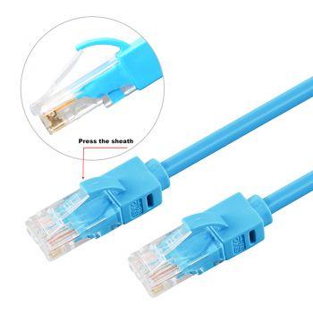 Black 5m Cat6 Network Cable UTP V7 V7CAT6UTP-05M-BLK-1N RJ45