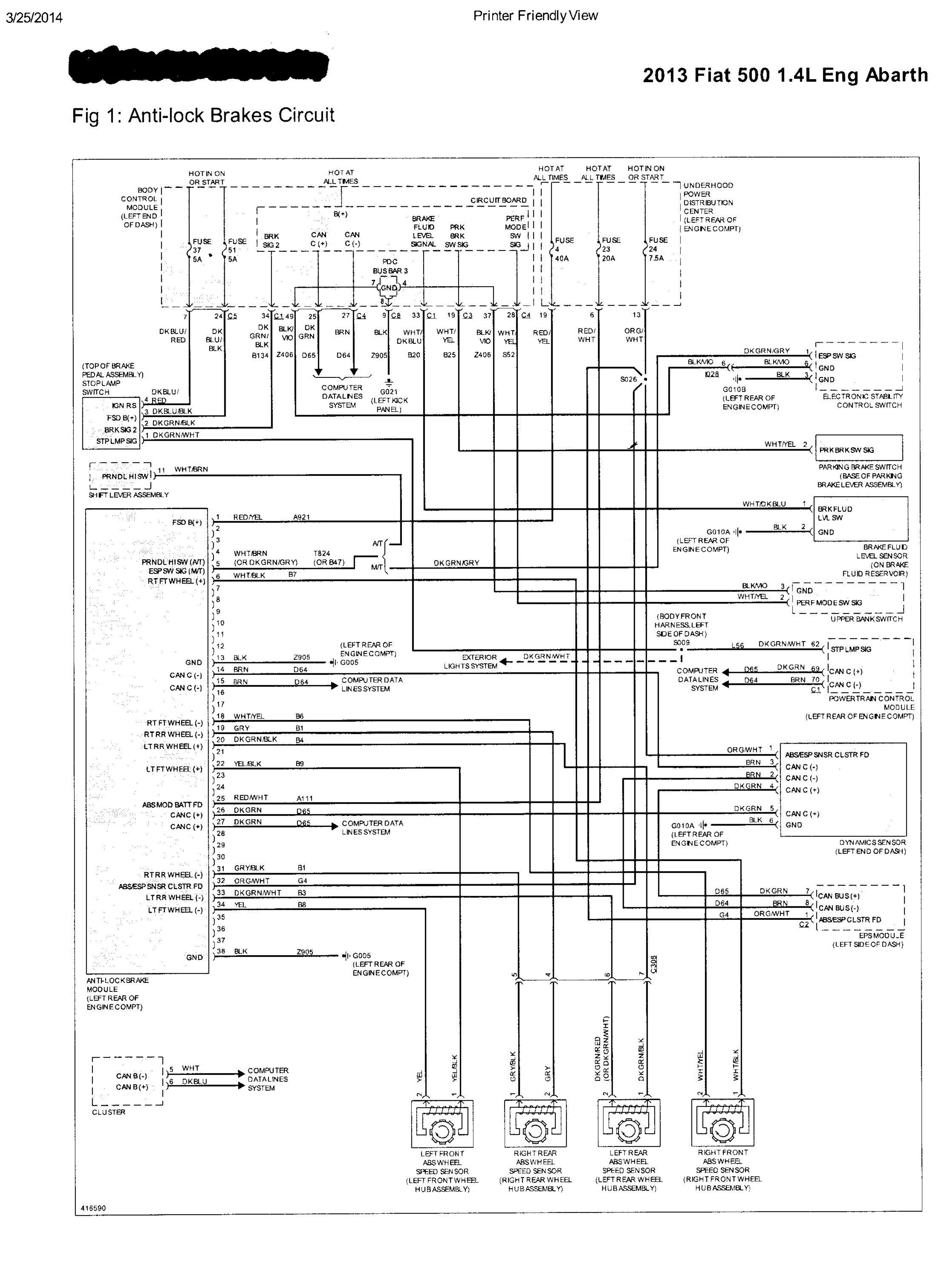 2012 fiat 500 wiring diagram | home wiring diagrams stage  insolitipercorsi.it