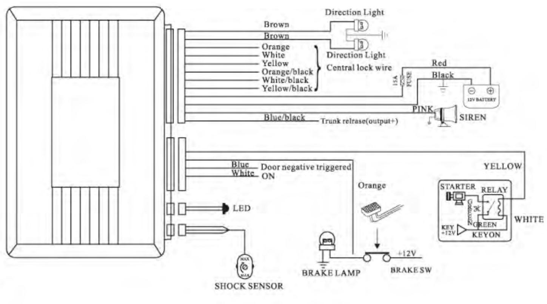 Prestige Wiring Diagram