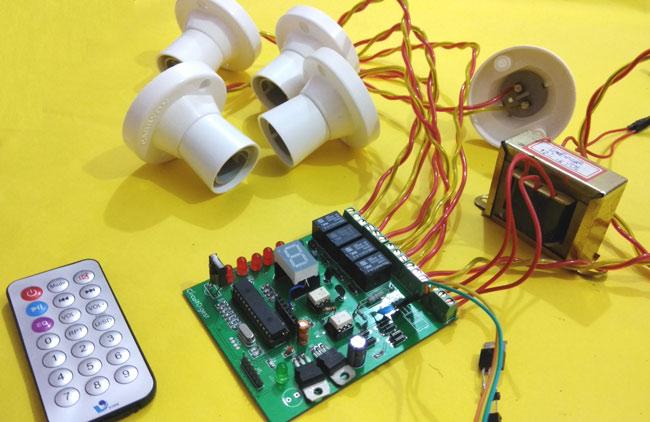 Swell Ir Remote Controlled Home Automation Project Using Pic Wiring Cloud Histehirlexornumapkesianilluminateatxorg