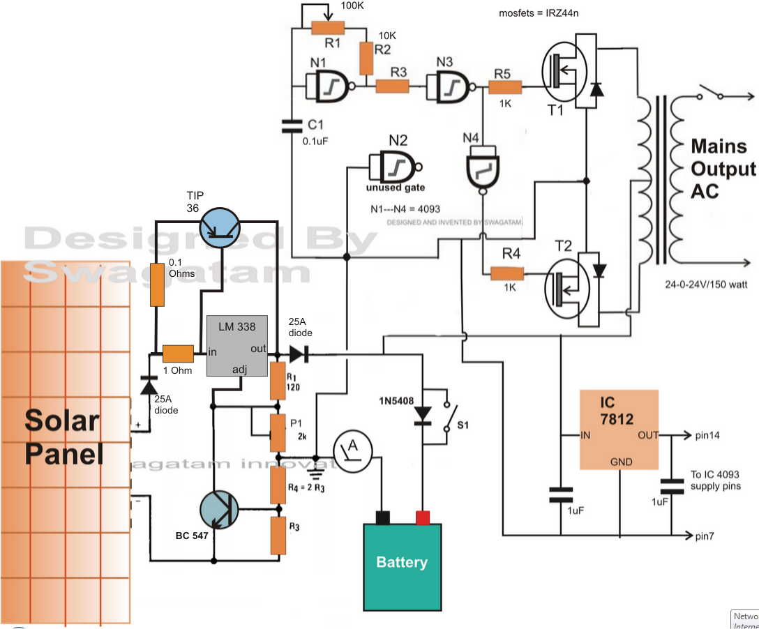 Groovy Inverter Circuit Diagram Additionally Dc Ac Inverter Circuit Diagram Wiring Cloud Filiciilluminateatxorg