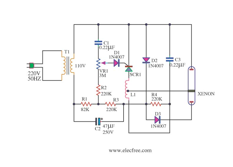 Outstanding Xenon Circuit Light Laser Led Circuits Next Gr Wiring Cloud Ostrrenstrafr09Org