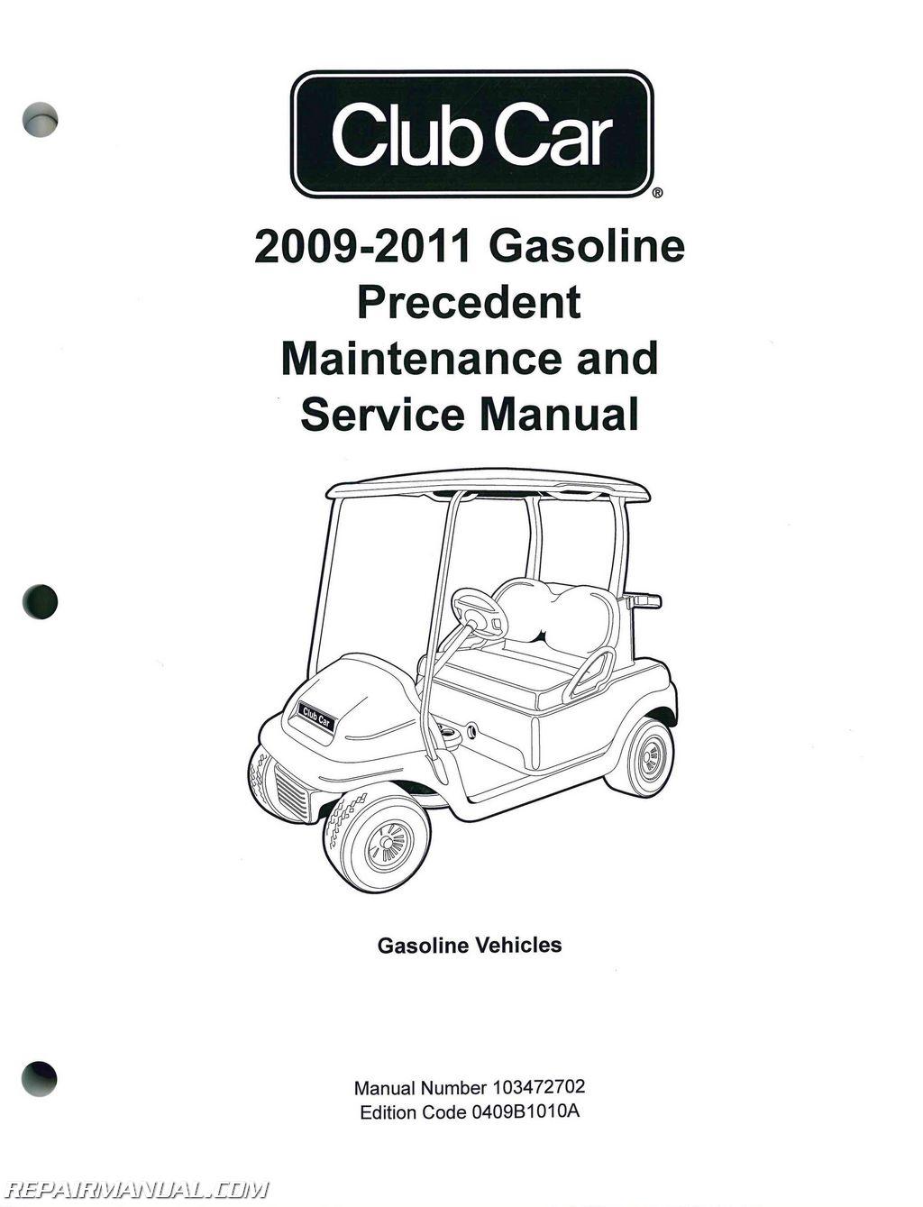 club car fuse box diagram df 9875  golf cart wiring diagram on club car precedent gas wiring  wiring diagram on club car precedent
