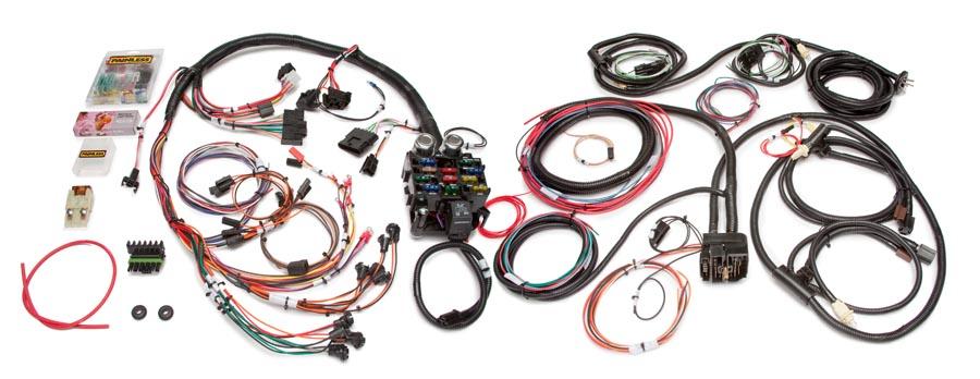 Wondrous 21 Circuit Direct Fit Jeep Cj Harness Painless Performance Wiring Cloud Gufailluminateatxorg